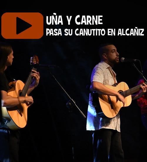 Uña y carne pasa su canutito en Alcañiz