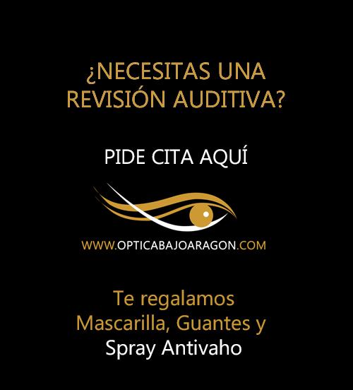 Óptica Bajo Aragón Revisión de Audición