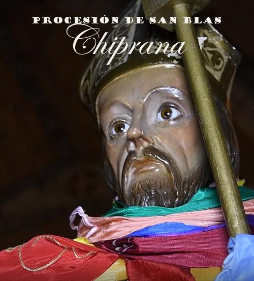 Procesión de San Blas en Chiprana