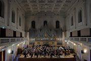 Más de treinta músicos romanos ensayan en el Conservatorio de Alcañiz