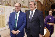 """Javier Zaragoza visita Alcorisa desde """"la estratosfera"""""""