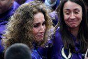 Ana Belén Rompe a llorar en Calanda