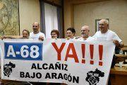 El Ayuntamiento de Alcañiz se adhiere al manifiesto de Teruel Existe Bajo Aragón