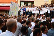 Cientos de personas piden en Caspe justicia para el joven Kamal