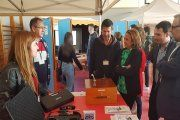 Más de quinientos estudiantes participan en la feria de FP del Bajo Aragón