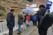 Televisión Española emite la dramática situación de los afectados por el derrumbe