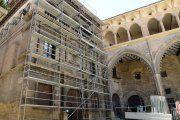 Alcañiz. Comienza la restauración de Ayuntamiento y Lonja
