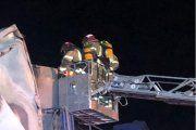 Bomberos sofocan un incendio en una empresa de Albalate