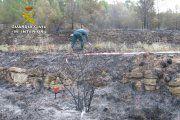 Investigan al presunto autor del incendio de Valderrobres