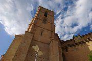 Alcañiz. La torre gótica, libre de andamios