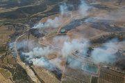 Incendio originado en Tarragona afectó al Bajo Aragón