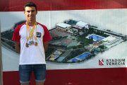 El nadador alcañizano José Luis Martínez logra cuatro medallas en el Campeonato de Aragón