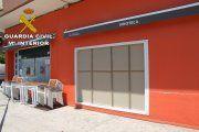 Dos detenidos por robo con alunizaje en el bar Jardín de Alcañiz