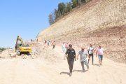 Detalles de las obras en Pui Pinos y preocupaciones de los afectados