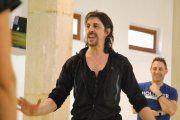Miguel Ángel Berna une danzas de Aragón e Italia en Valderrobres