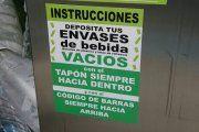 Cierra la máquina de reciclaje de Alcañiz