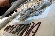 Detalles de la restauración del Ayuntamiento y la Lonja de Alcañiz