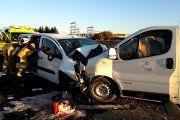Piden que el accidente de la furgoneta de Calanda sea considerado laboral
