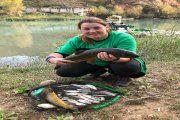 María José Martínez campeona de pesca