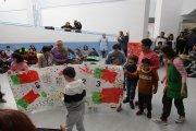 Docentes portugueses visitan el colegio Gloria Fuertes de Andorra, con un proyecto en común