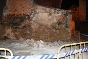 Nuevos desprendimientos en el abandonado casco antiguo de Alcañiz
