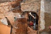 Alcañiz. Sufren en sus viviendas graves filtraciones de agua de Pui Pinos