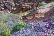 La Vía Verde en el Matarraña, muy afectada por Gloria