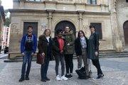 Tres estudiantes franceses de FP hacen sus prácticas en Alcañiz y Castelserás