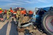 Tres fallecidos y cinco heridos en un accidente de tráfico en Caspe