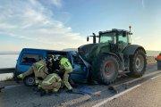 Fallece otro de los heridos en el choque con un tractor en Caspe