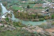 Crecen los ríos en el Bajo Aragón