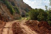 Reparado el acceso al coto de pesca de la Badina, en Alcañiz