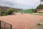 La llave de las pistas deportivas de Calanda, a disposición de los vecinos