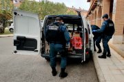 La Guardia Civil de Teruel recolecta 300 kilos de comida para necesitados