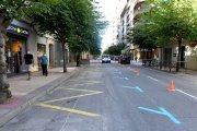 La avenida de Aragón de Alcañiz es unidireccional desde este jueves