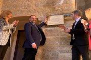 Miguel Ángel Estevan: Urquizu colocó la placa en la torre sin autorización