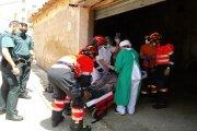 Herido al caer a un aljibe en Alloza