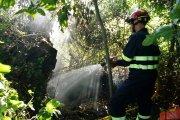 Incendios por rayos en Belmonte y Ariño