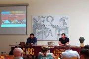 Marcos Ferrer analizó las posibilidades turísticas de Calanda