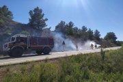 Conato de incendio forestal en Aguaviva