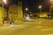Camioneros recurren a vecinos ante obras y cambios en Alcañiz
