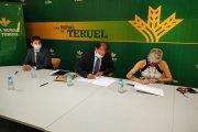 Caja Rural de Teruel y la Asociación de Comercio e Industria de Calamocha renuevan su acuerdo de col...