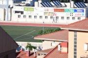 El PAR plantea una alternativa para reparar el césped del campo de fútbol de Alcañiz
