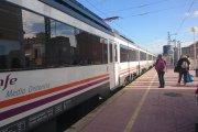 Piden la restitución de los trenes en el Bajo Aragón