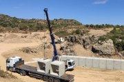 Comienza la mejora de la carretera entre Maella y Mazaleón