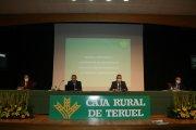 Caja Rural de Teruel celebra una Asamblea General Extraordinaria marcada por las medidas de segurida...