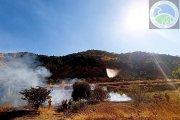 Incendios a diario en el Bajo Aragón, por irresponsabilidad