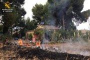 Investigado un vecino de Caspe por un incendio forestal