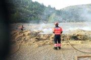 Detenido vecino de Bordón por detonación de petardos en una granja, provocando un incendio