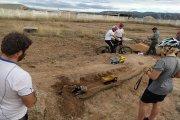 El antiguo campo de fútbol de Calanda se adapta a la práctica de diferentes deportes